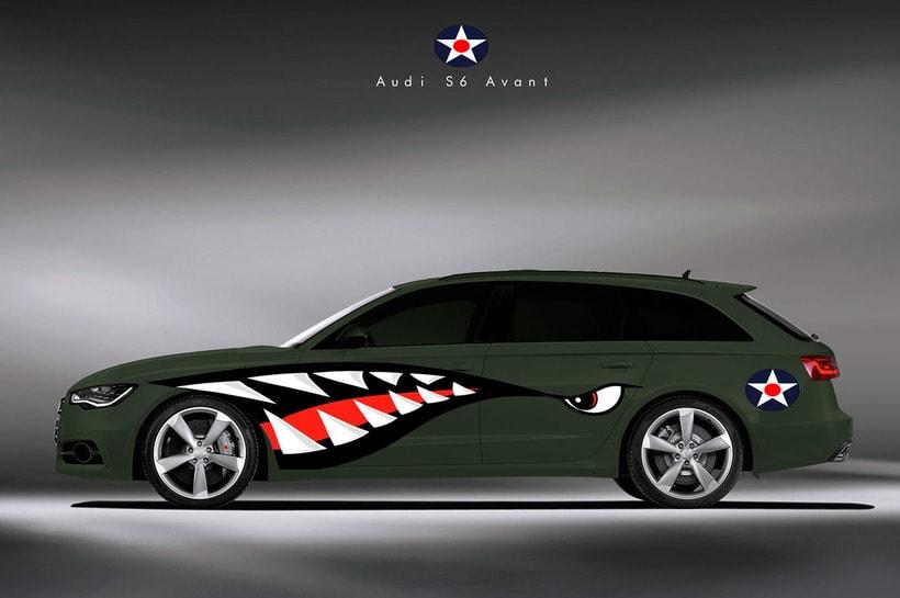 Audi S6 Avant Military -1
