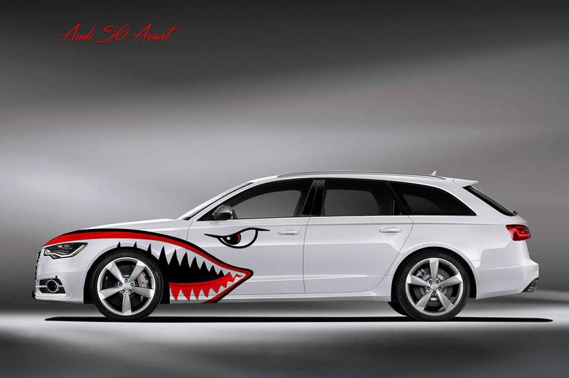 Audi S6 Avant Military 0