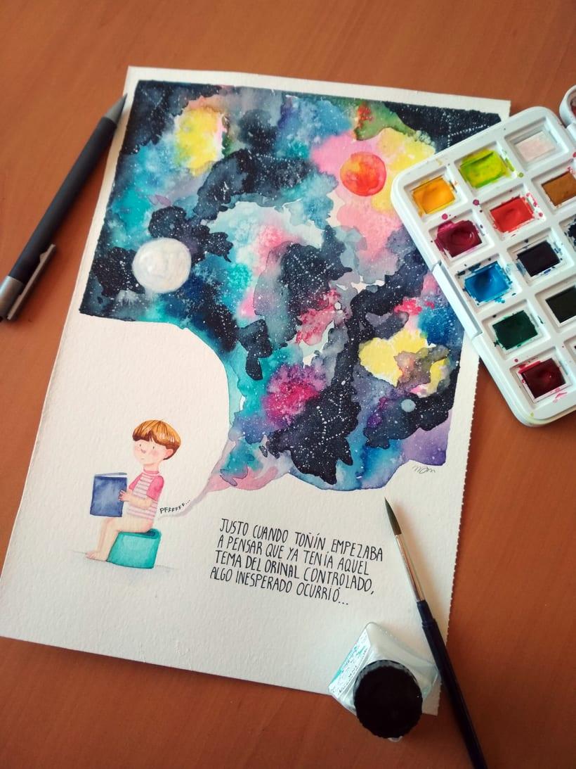 Toñín y el cosmos -1