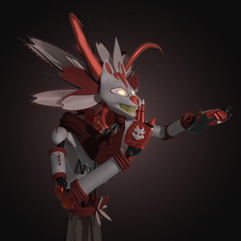 Mi Proyecto del curso: Modelado de personajes en Maya Miaubacore 0