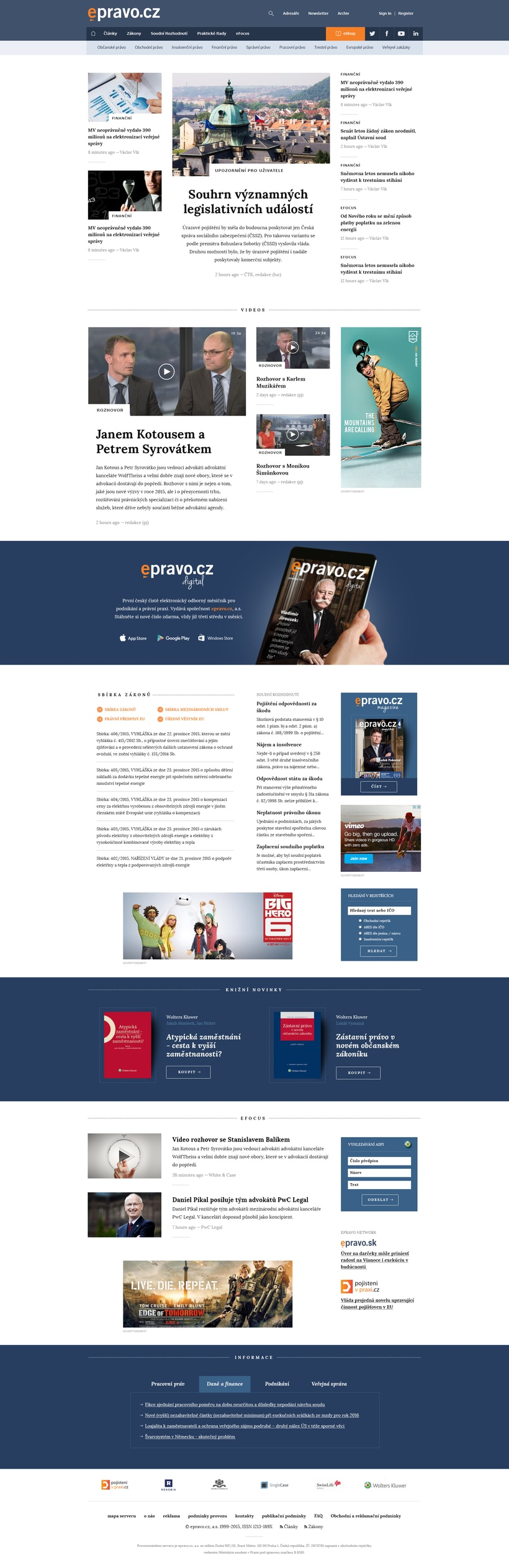 Epravo, Czech finance portal -1