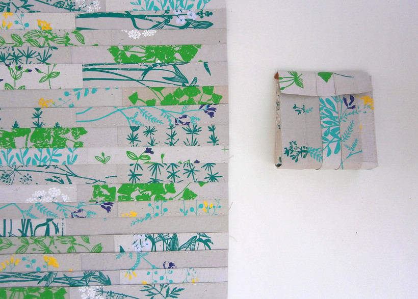 Proyecto diseño textil con papel 0