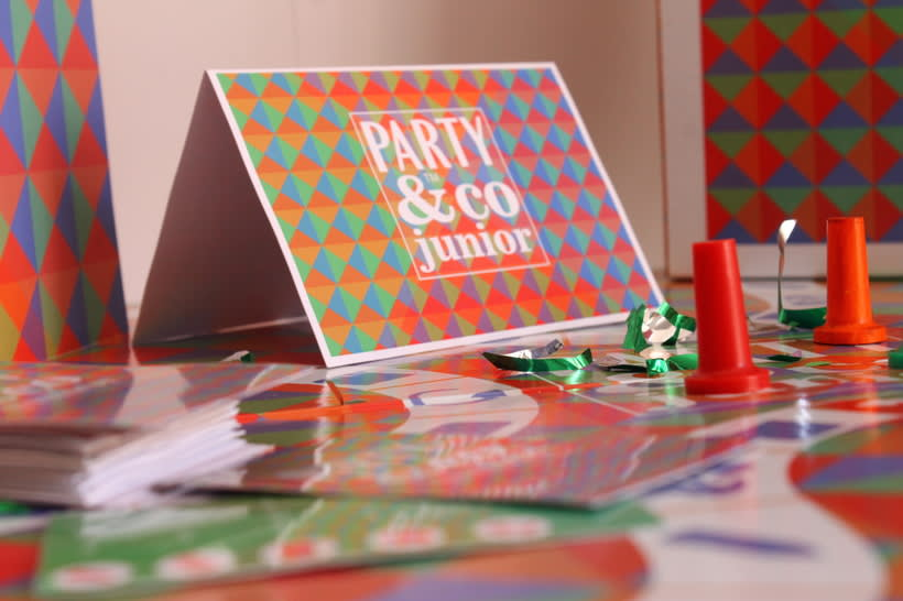 Rediseno Juego De Mesa Party Co Junior Domestika