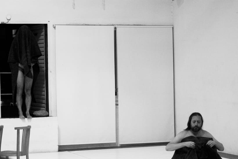 "Fotos a ""Black Noise (work in processes)"" Vicente Colomar 1"