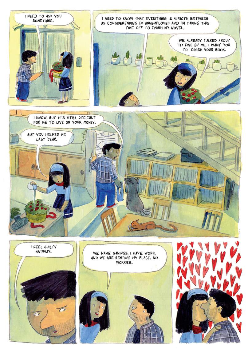 Poncho Fue- Novela Gráfica 1
