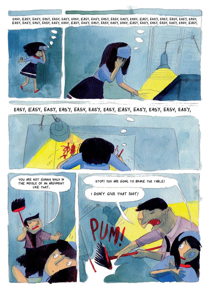 Poncho Fue- Novela Gráfica 8