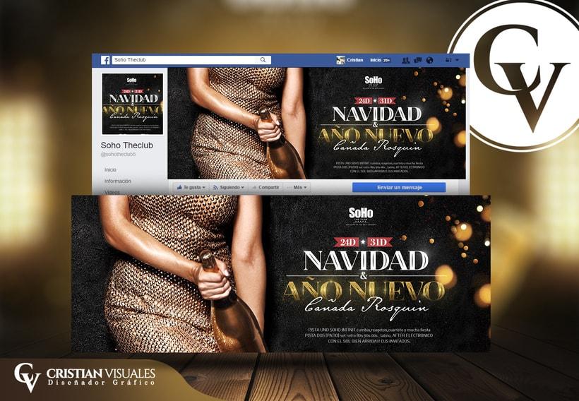 Social Media Post - Navidad & Año nuevo -1