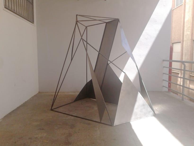 Escultura Metal -1
