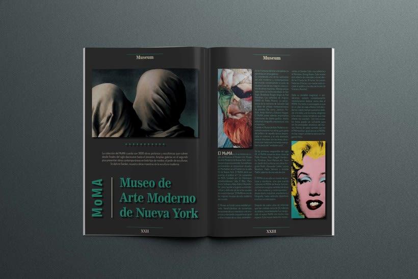 Maqueta con diagrama - MoMA -1