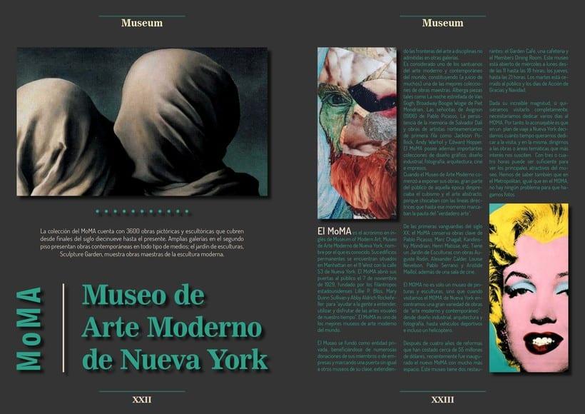 Maqueta con diagrama - MoMA 0