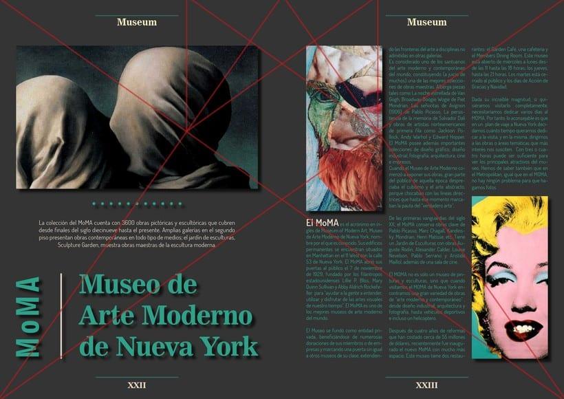 Maqueta con diagrama - MoMA 1