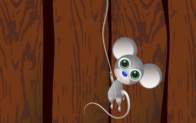 una rata asustada 1