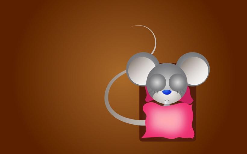 una rata asustada 5