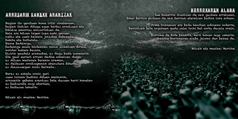 Diseño de CD grupo Harrika 0