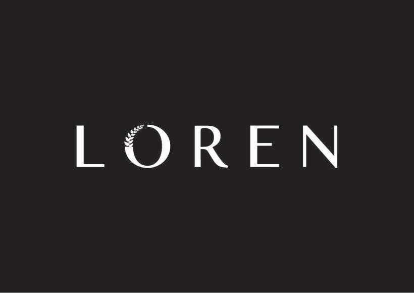 Logo e Identidad - LOREN 1