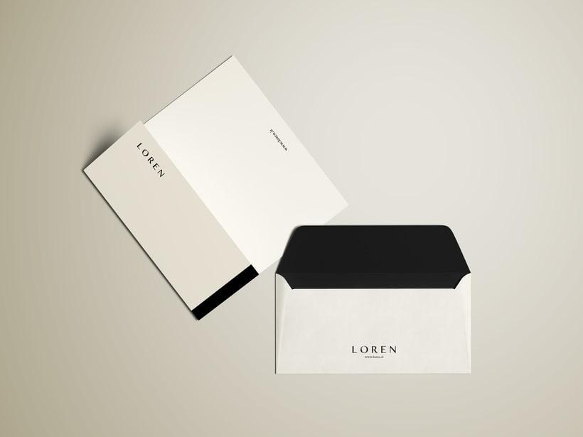 Logo e Identidad - LOREN 6