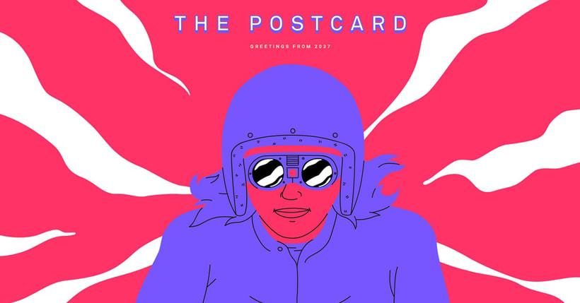 'The postcard': postales desde el futuro en stop motion 1