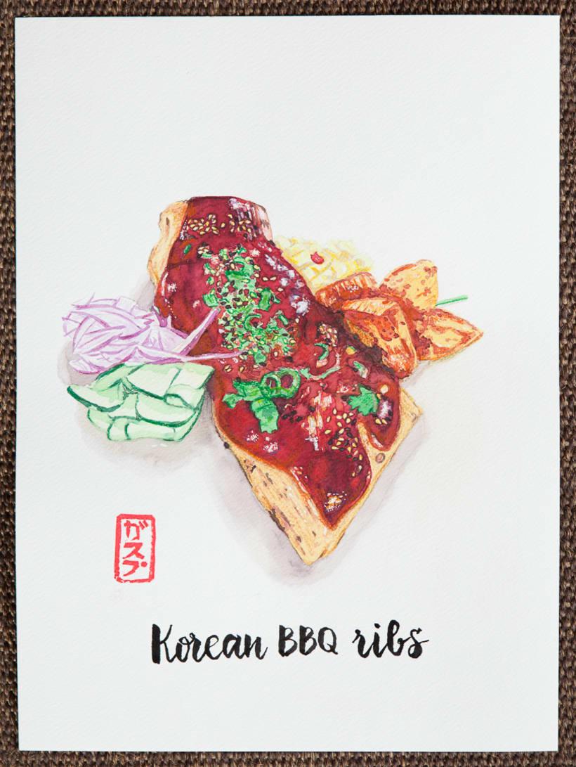 Kitchen 154 watercolors 1