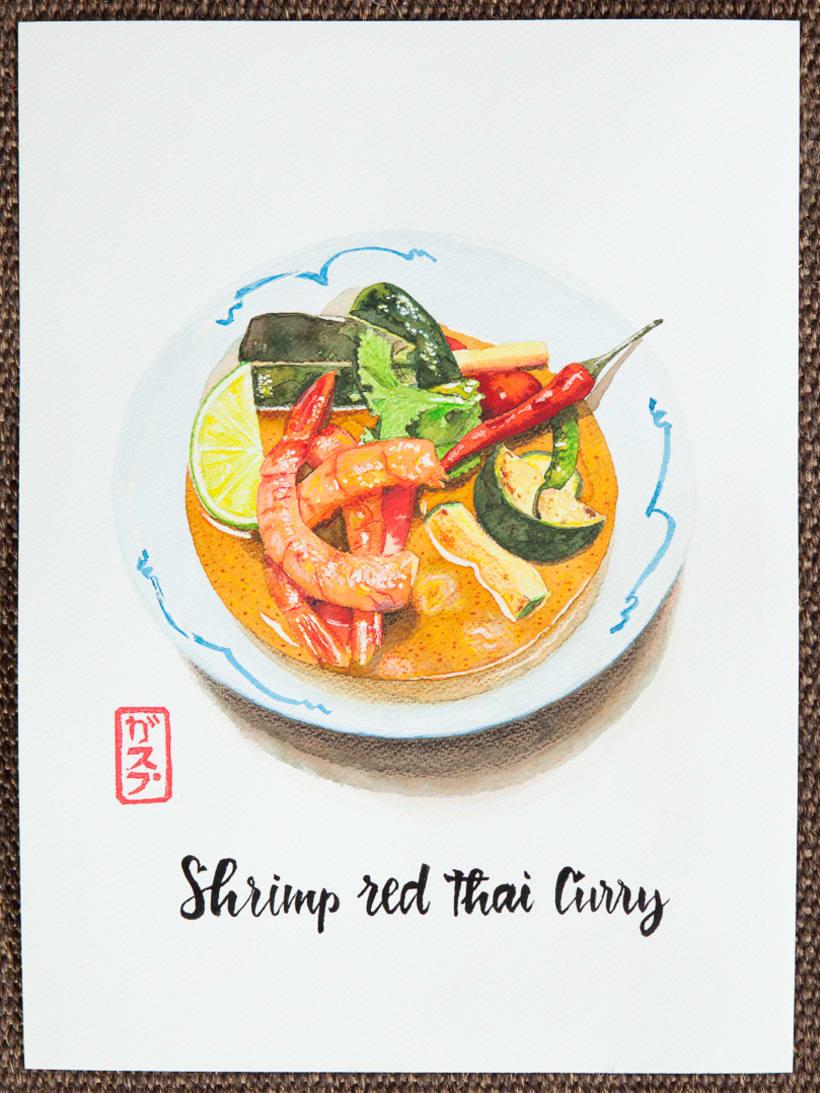 Kitchen 154 watercolors 2