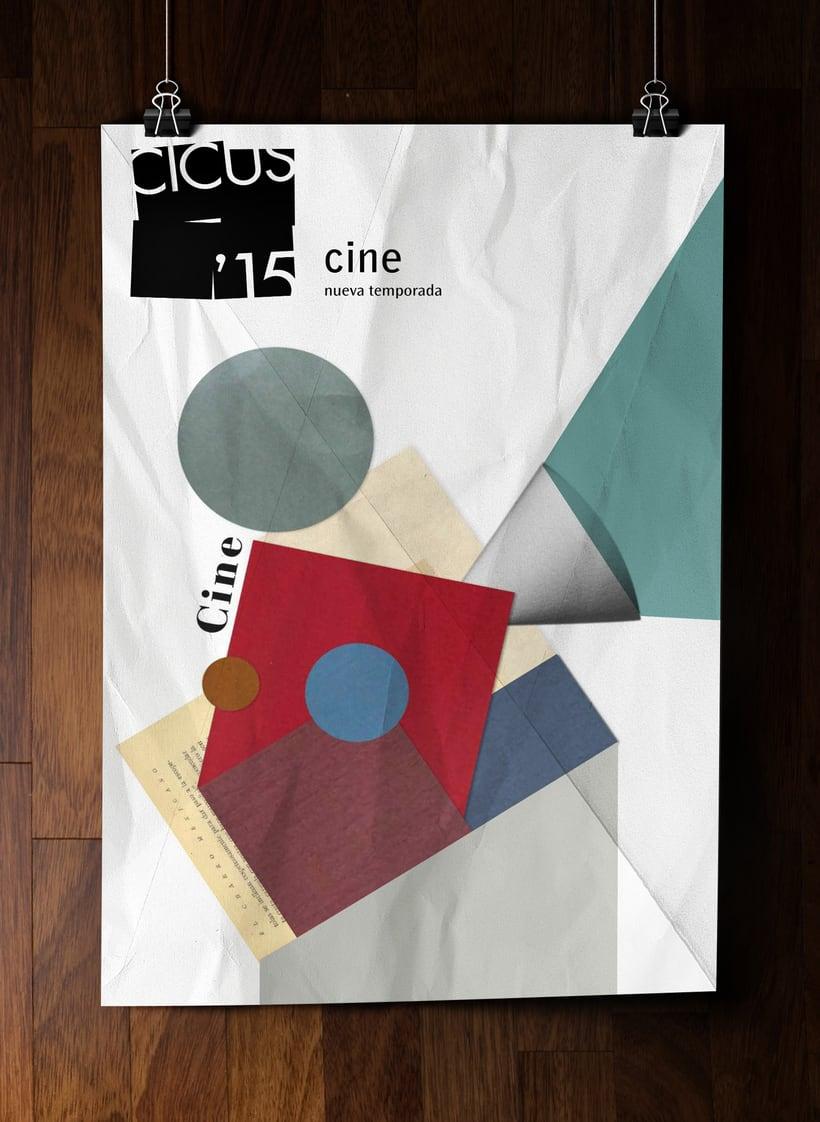 CICUS / proyecto de imagen para las actividades del el aula de extensión universitaria de la universidad de Sevilla 1