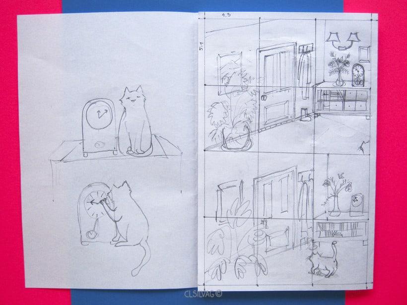Mi Proyecto del curso: Creación de cómics con Clip Studio Paint EX - PUERTA 5
