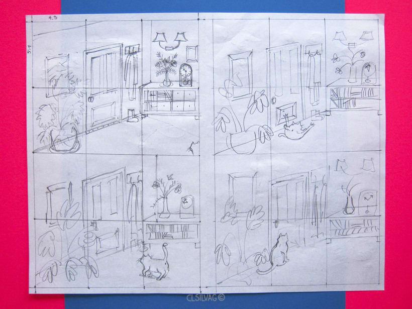 Mi Proyecto del curso: Creación de cómics con Clip Studio Paint EX - PUERTA 6