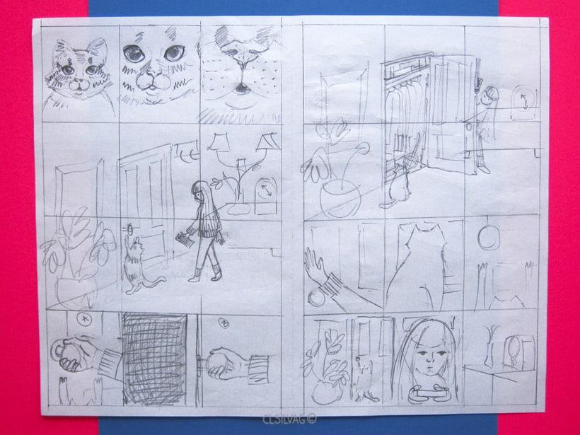Mi Proyecto del curso: Creación de cómics con Clip Studio Paint EX - PUERTA 7