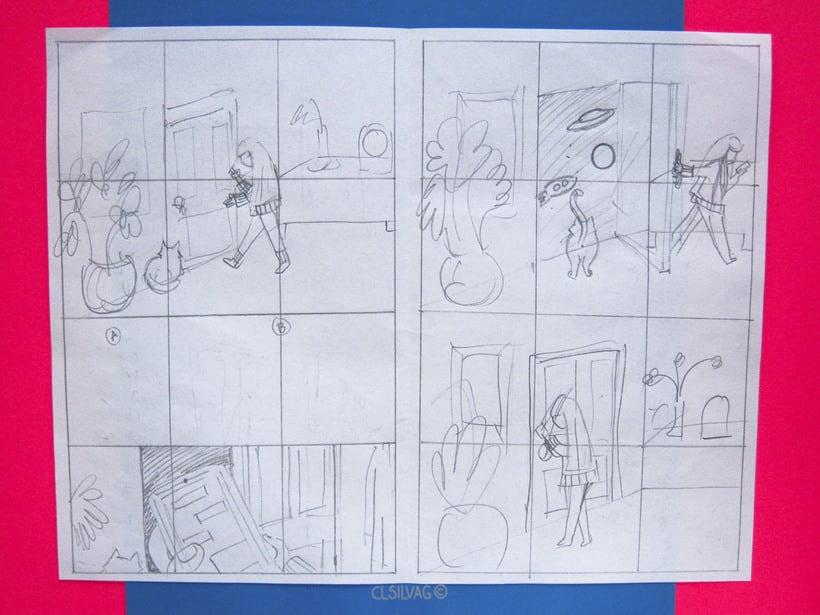 Mi Proyecto del curso: Creación de cómics con Clip Studio Paint EX - PUERTA 8