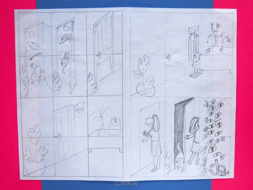 Mi Proyecto del curso: Creación de cómics con Clip Studio Paint EX - PUERTA 9