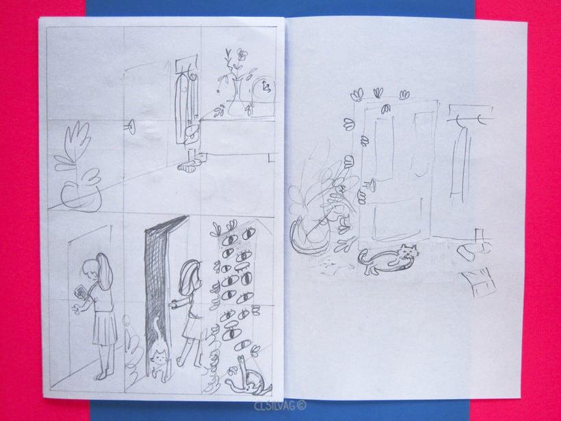 Mi Proyecto del curso: Creación de cómics con Clip Studio Paint EX - PUERTA 10