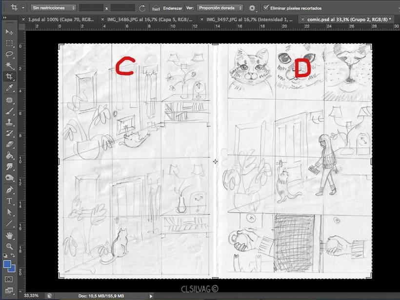 Mi Proyecto del curso: Creación de cómics con Clip Studio Paint EX - PUERTA 13