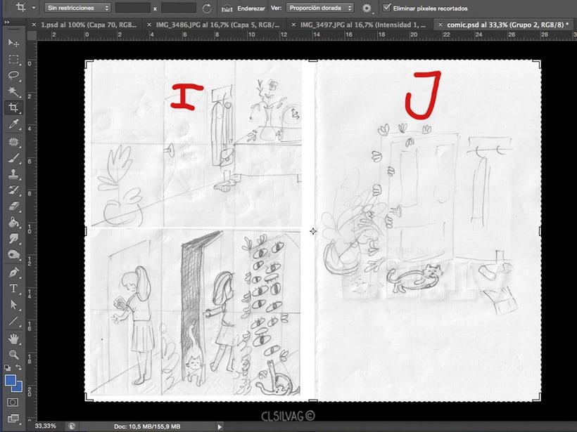 Mi Proyecto del curso: Creación de cómics con Clip Studio Paint EX - PUERTA 16