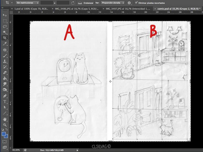 Mi Proyecto del curso: Creación de cómics con Clip Studio Paint EX - PUERTA 12