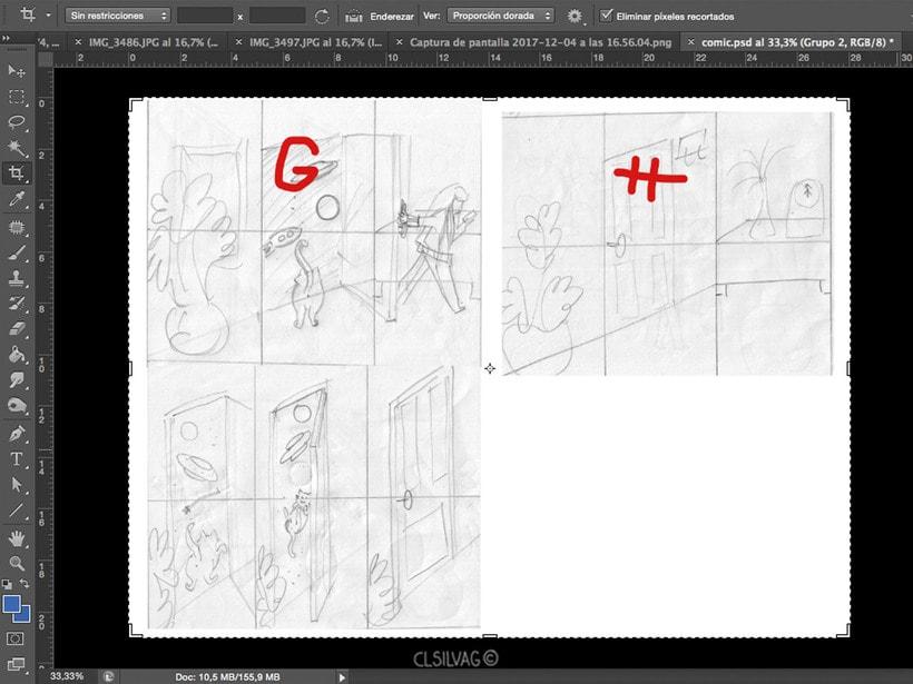 Mi Proyecto del curso: Creación de cómics con Clip Studio Paint EX - PUERTA 15