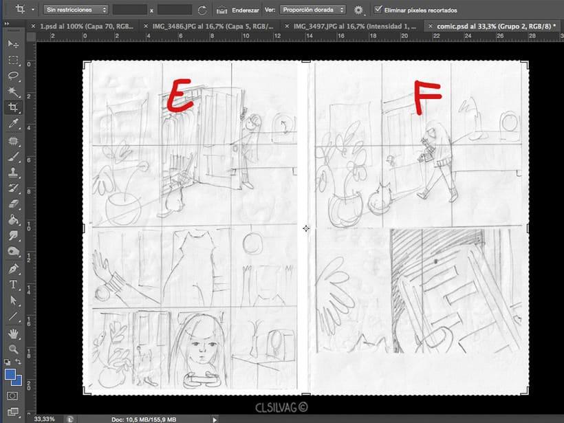 Mi Proyecto del curso: Creación de cómics con Clip Studio Paint EX - PUERTA 14