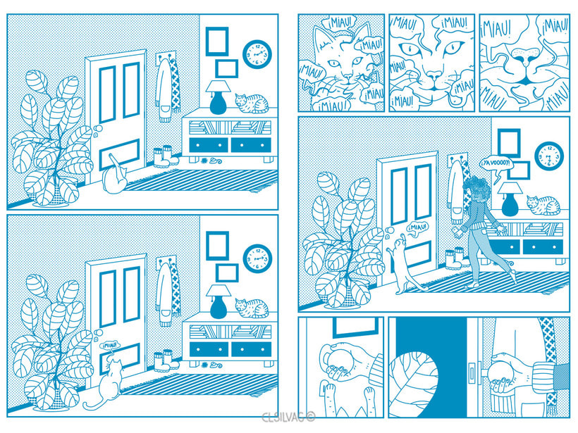 Mi Proyecto del curso: Creación de cómics con Clip Studio Paint EX - PUERTA 33