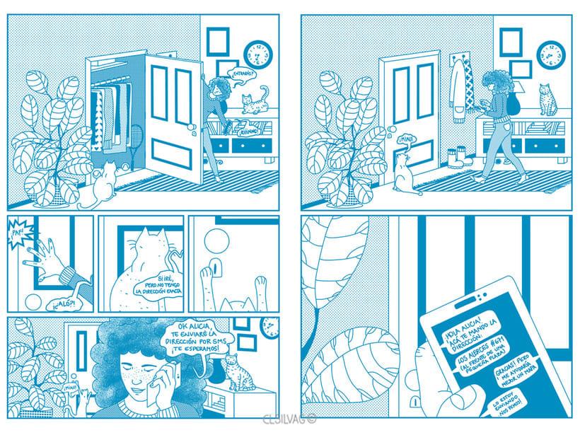 Mi Proyecto del curso: Creación de cómics con Clip Studio Paint EX - PUERTA 34
