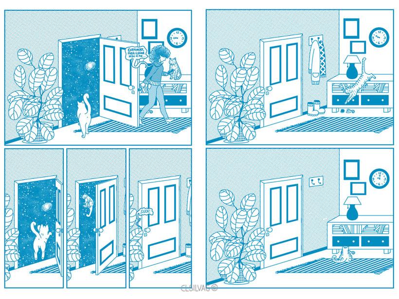 Mi Proyecto del curso: Creación de cómics con Clip Studio Paint EX - PUERTA 35