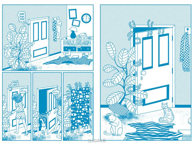 Mi Proyecto del curso: Creación de cómics con Clip Studio Paint EX - PUERTA 36