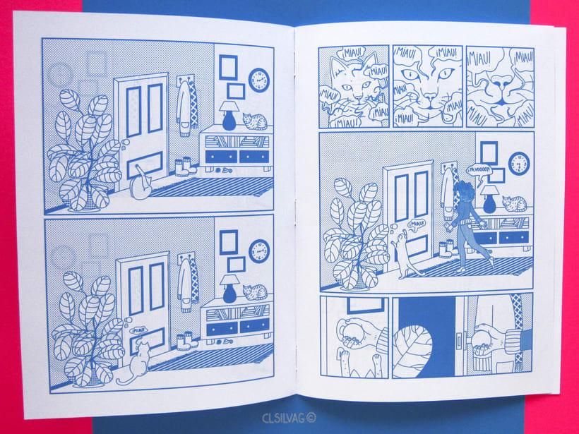 Mi Proyecto del curso: Creación de cómics con Clip Studio Paint EX - PUERTA 44