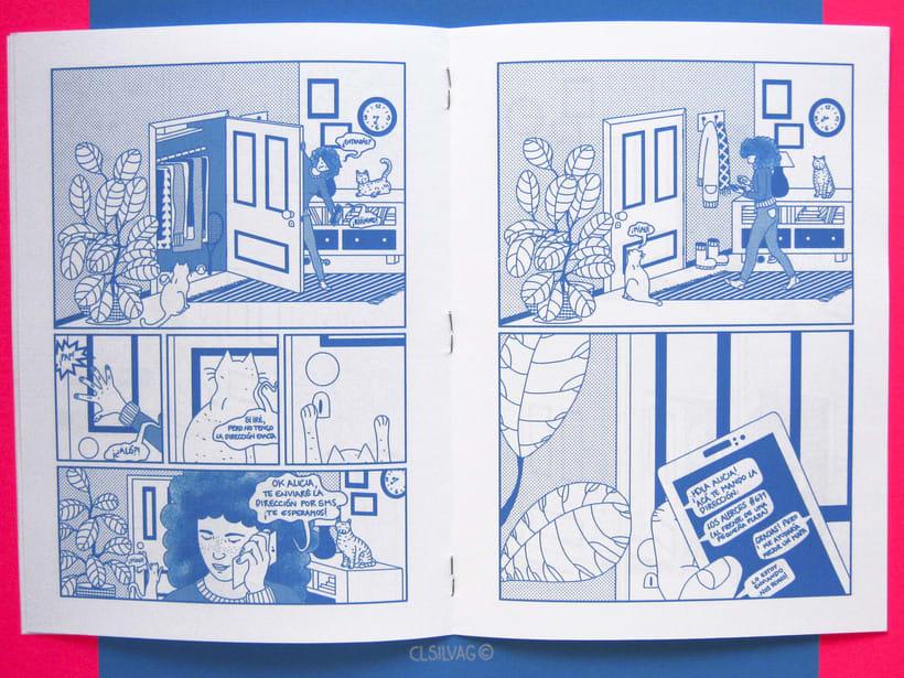 Mi Proyecto del curso: Creación de cómics con Clip Studio Paint EX - PUERTA 45