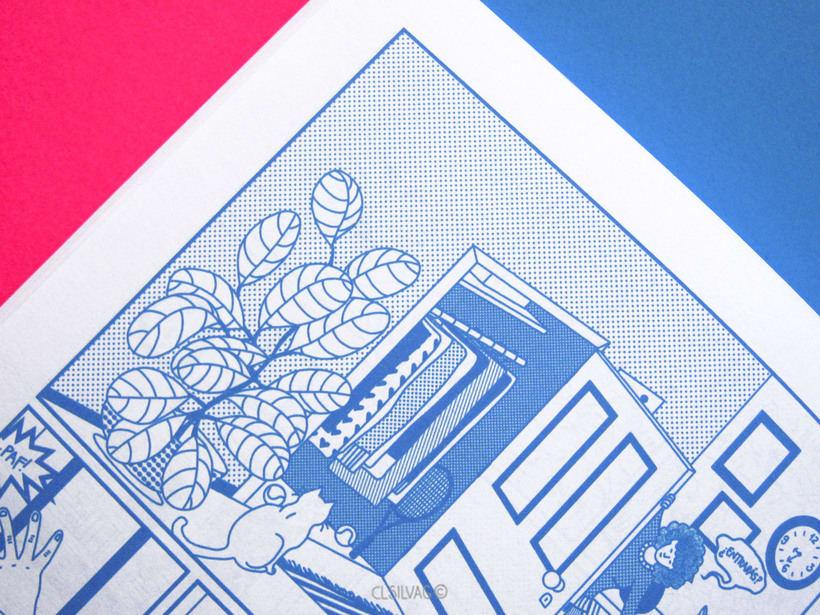 Mi Proyecto del curso: Creación de cómics con Clip Studio Paint EX - PUERTA 54
