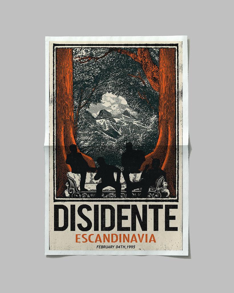 Cartelismo Ilustrado / Poster Disidente (Escandinavia) 1