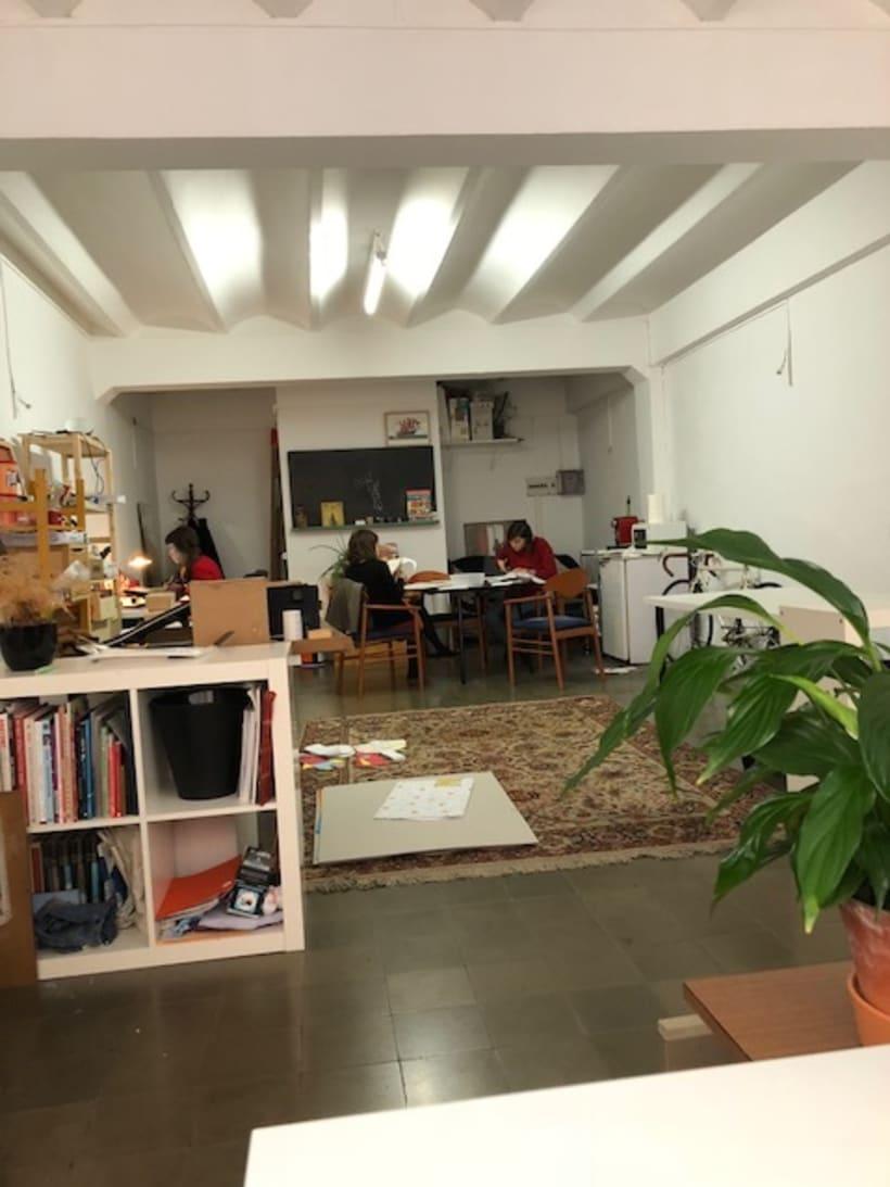 Espacio de Trabajo Compartido en Barcelona (Gràcia) 2