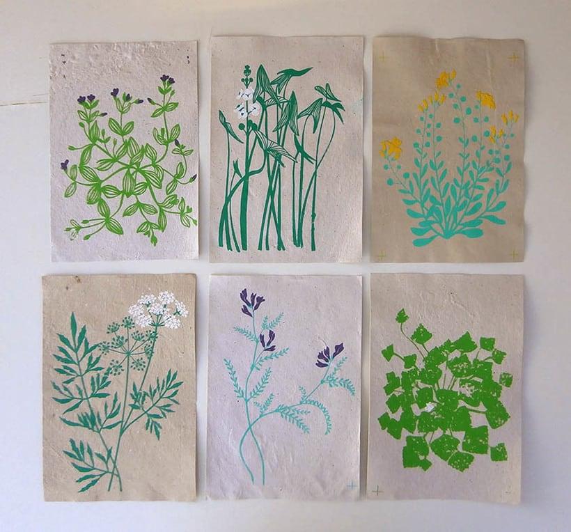 Proyecto diseño textil con papel 3