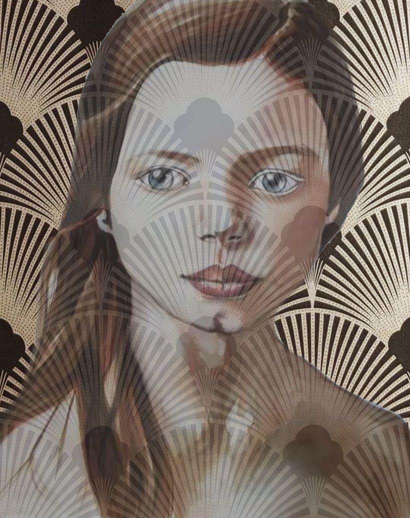 Nuevo proyecto: Retrato en acuarela con retoque digital. Gracias Ana Santos 1