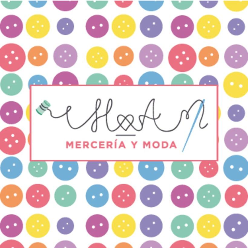 Logotipo para tienda H&A Mercería y Moda  2
