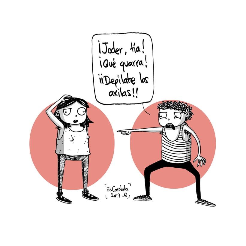 EsCarolota: una crítica feminista con toques de humor 3