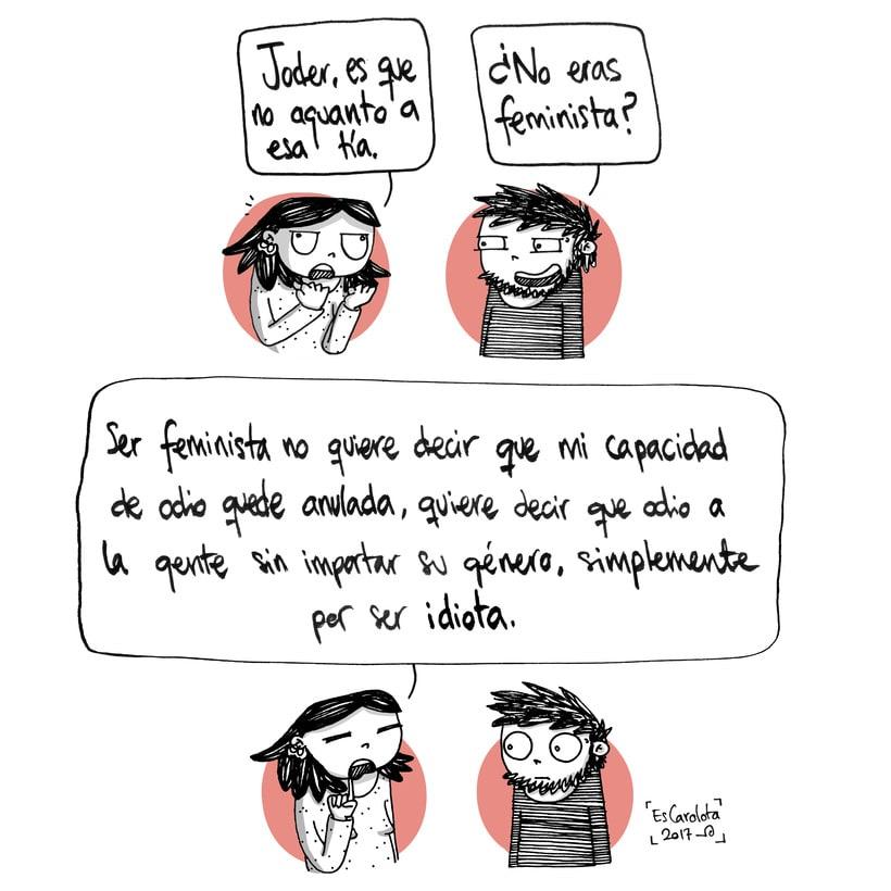 EsCarolota: una crítica feminista con toques de humor 8