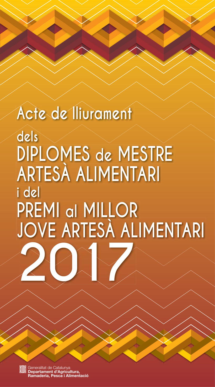 Premis Artesania Alimentària 2